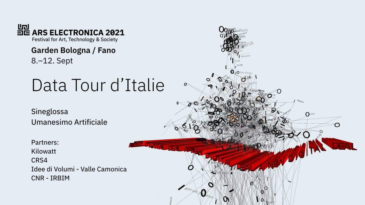 Garden Ars Electronica Bologna: Data tour d'Italie | Performance